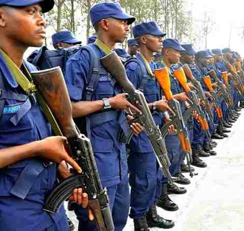 Abapolisi b'u Rwanda berekeza muri Haiti