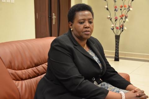 Ambasaderi Fatuma Ndangiza (Ifoto/Ngendahimana S)
