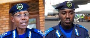 ACP Tony Kuramba (ibumoso) na ACP Theos Badege