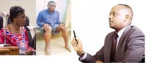Uturutse ibumoso: Nirere Madeleine uyobora Komisiyo y'Uburenganzira bwa Muntu, Ngendahayo Mohammed bivugwa ko yakorewe iyicarubozo, n'Umushinjacyaha Mukuru Richard Muhumuza (Ifoto/Ububiko)